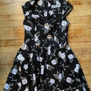 Hell Bunny Vixen Rose Dress